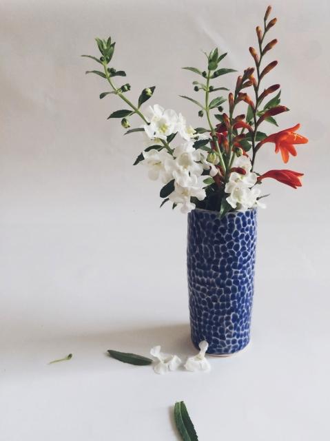 Sapphire Bud Vase | Arrow and Sage
