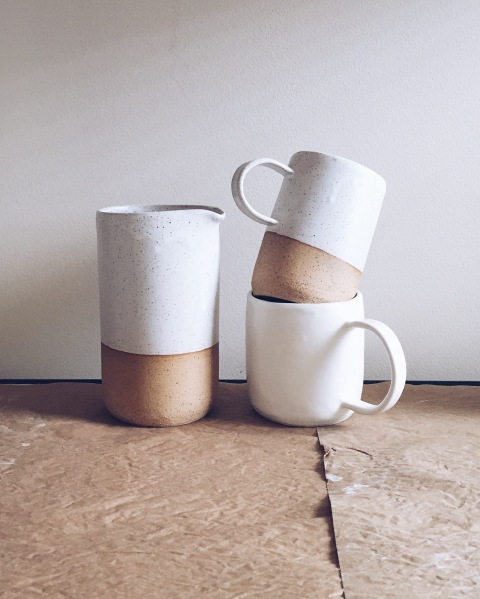 carafes + mugs