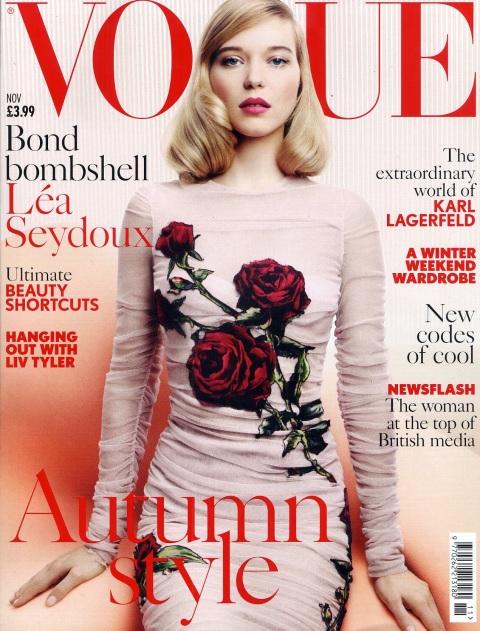 Cover - Vogue November 2015